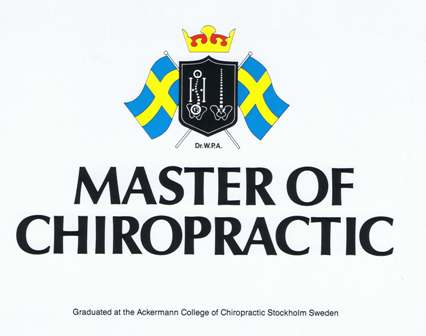 Master of Chiropractic